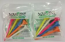 "Martini Golf Tees 5-pack (Assorted) 3 1/4"" Long  (2-PACK)"