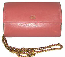 VINCE CAMUTO Vintage Rose Leather Clutch Purse  Cross body NWT