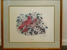 John A Ruthven Signed and Numbered Print - Cardinals - 273/500