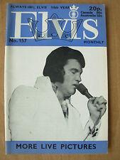 ELVIS PRESLEY MONTHLY MAGAZINE No 157
