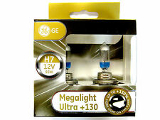 GE General Electric H7 Megalight Ultra +130% 2 ST. PX26D 58520xnu NOVEDAD
