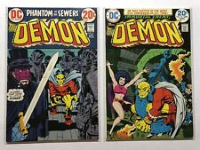 The Demon #1-2 Dc 1972 Lot 2-issues Jack Kirby Great Condition!
