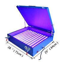 25x28 Screen Printing Led Exposure Unit Light Box Plate Making Machine