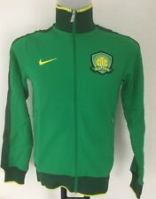 BEIJING GUOAN GREEN N98 JACKET BY NIKE SIZE MEN'S SMALL BRAND NEW WITH TAGS
