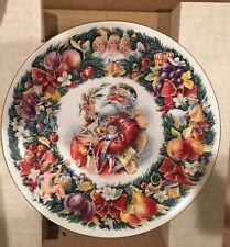 "Royal Doulton Plate ""Christmas Wishes� 1992 Santa Claus Artist: Neil Faulkner"