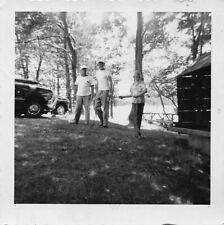 GOLFING w/ THE BOYS - MEN PLAY GOLF AT PARK FAMILY VACATION VTG 1950s PHOTO 122