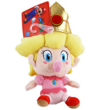 Official BABY PEACH Super Mario Bros. 5 in. Plush San-Ei 1249 (Bebi Pichi Anime)