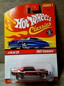 Hot Wheels Classics 2004 Series #1 1967 CAMARO Limited Edition Special Paint MOC