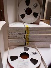 "Quantegy 406 Magnetic Tape Audio Mastering Tape,1"" Tape 10.5"" Reel"