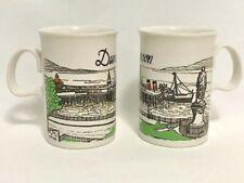 2 Vintage Dunoon Ceramics Scotland Coffee or Tea Cup, Mug Made In Scotland