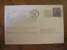 1932 #725 Daniel Webster  U.S. FDC 1st Cache Cover