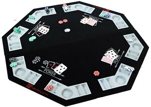 MD Sports Poker Table Conversion Top  44 inches wide, carrying bag, Chips, Cards
