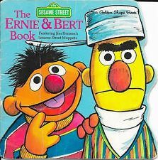 'The Ernie and Bert Book' Sesame Street Vintage 1977 1st Edition Children's Book