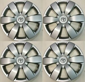 "4x  16"" Hubcap Fits Toyota Camry 2005 2006 2007 2008 2009 2010 2011 Wheel Cover"