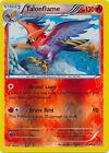Talonflame Rare Reverse Holo Pokemon Card XY Roaring Skies 15/108