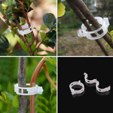 50pcs Trellis Tomato Clips Supports Connects Plants Vines Binder Twine Cages Set