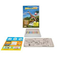 Kids Coloring Sheets Game Smartivity AR Colouring Kit Jungle Safari