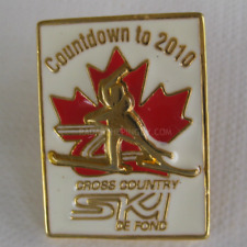2010 Winter Olympic Canada Cross Country Ski Pin
