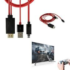 1pc MHL Micro USB to HDMI 1080P HD TV Cable Adapter for Most of Samsung Phone AH