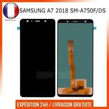 ECRAN LCD + VITRE TACTILE POUR SAMSUNG GALAXY A7 2018 SM-A750F/DS NOIR ASSEMBLÉ