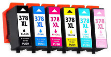 378XL Ink Cartridges For Epson XP-8500 XP-8505 XP-8600 XP-8605  Squirrel Non OEM
