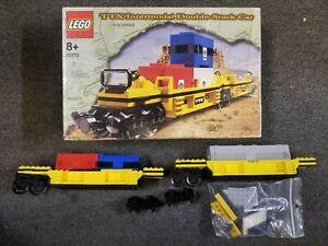 LEGO Set 10171 TTX Intermodal Double-Stack Train Part Lot with Wheels Lot U599