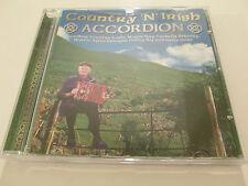 Country 'n' Irish Accordion - Various Artists ( CD Album ) Used very good