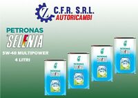 4 LITRI OLIO LUBRIFICANTE SELENIA MULTIPOWER 5/40 5W40 5 40 5.40 GAS E METANO