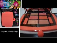 Hot Stuff Eye Shadow Lip Gloss Compact by Jerome Alexander Nwt Coral Peach Case