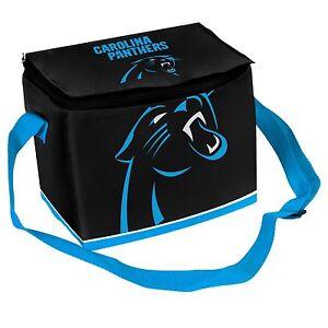 Carolina Panthers Insulated soft side Lunch Bag Cooler New - BIg Logo