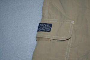 21679-a Mens Polo Ralph Lauren Swimming Trunks Cargo Tan Size Large