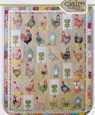 Hen House Applique Quilt Pattern by Claire Turpin Design