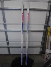 Vintage 1990s BONNA GOLDSKATE Graphite/Carbon Cross Country Skis 190cm BRAND NEW