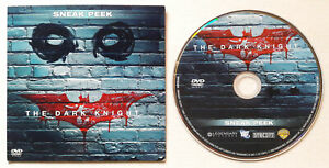 RARE 2008 Batman The Dark Knight MOVIE Sneak Peek DVD PROMO Heath Ledger JOKER