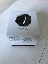 LG G Watch LGW100 Black Titan