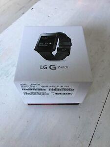 LG G Watch LGW100 Black Titan