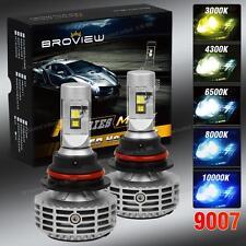 9007 HB5 44W Cree+Philips LED Headlights Conversion Hi/Low Beam BroView M5