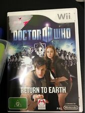 doctor who return to earth wii