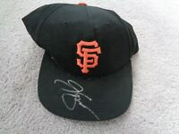VINTAGE Giants J T Snow Genuine Merchandise Model SIGNED Baseball Cap Hat