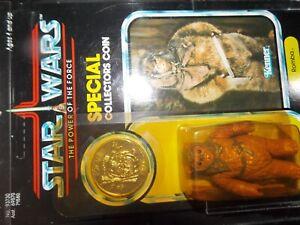 Vtg 1977 1984 1985 Kenner Star Wars POTF Last 17 ewoks AFA ROMBA ewok coin lot~~