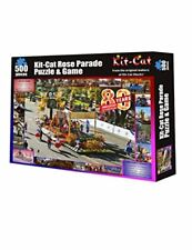 Rose Parade Kit Cat Jigsaw Puzzle and Game, 500 Pieces