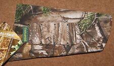 REALTREE XTRA CAMO CAMOUFLAGE NEOPRENE SHOTGUN STOCK COVER 4 SHELL HOLDER LOOPS