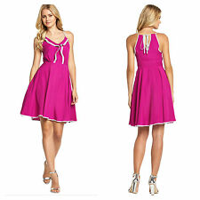 Definitions Size 16 Simply Fab Pink Frill Halter DRESS Holiday Party Be Cute £62