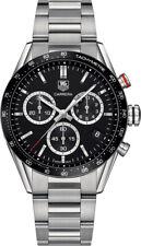 Mens Tag Heuer Carrera Chronograph Panamericana Quartz 43mm Watch Cv1a10