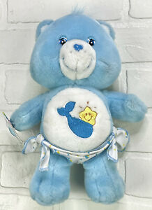 "2003 Care Bears Baby Tugs Bear 10"" Plush"