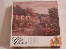 Village Cobblestone Street Puzzle 1,000 pc. 1000 Roseart NEW Castlecombe