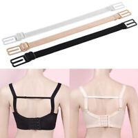 3pcs Back Breast Straps Clips Rope Holder for Women Girl Non-Slip Bra Form