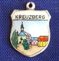 Kreuzberg, Anhänger Wappen Bettelarmband Charms Silber 800