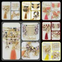 6 Semanarios Chapa Oro Estilo Imperio Mayoreo  6 Gold Plated Bracelet Wholesale
