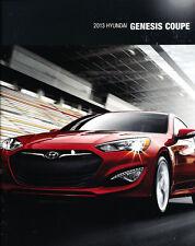 2013 Hyundai Genesis Coupe 20-page Original Car Dealer Sales Brochure Catalog